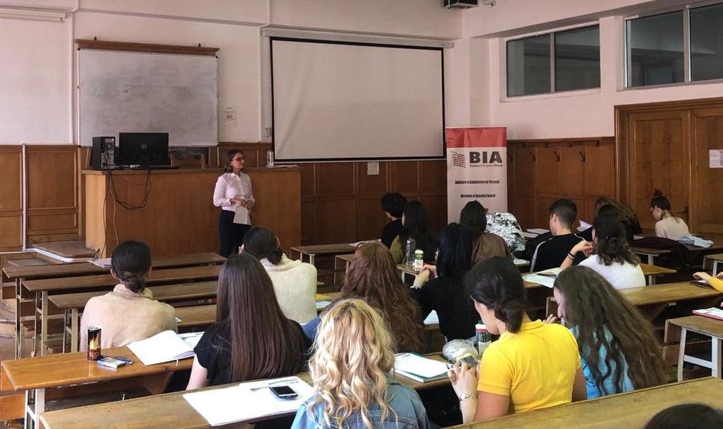 "Workshop BIA HR ""Primii pasi spre angajare"""