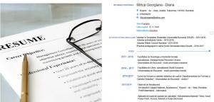 CV Georgiana Mirica