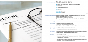 Georgiana Mirica Resume